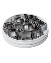 Geometric Shapes Cutter Set (Stainless Steel)