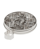 Country Cutter Set 12 Piece (Stainless Steel)