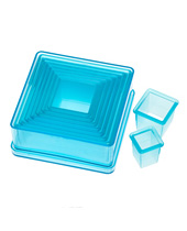Plain Square Cutter Set 9 Pcs