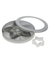 Star Cutter Set 8 Piece, Stainless Steel