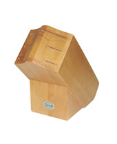 Rubber Wood Empty Block for 6 Pcs
