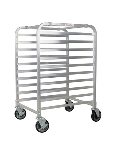 Aluminum Bun Pan Rack 10 Rows